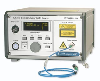 Superlum BS-840-1 Tunable Semiconductor Laser